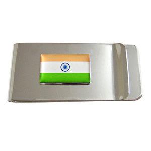 India Flag Pendant Money Clip